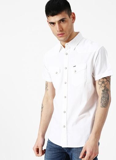 Lee&Wrangler Wrangler Gömlek Beyaz